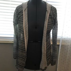 ✨Striped Hooded Cardigan✨